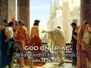 """What Kind of King is Jesus?"""