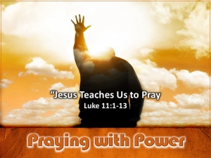 Jesus Teaches Us To Pray