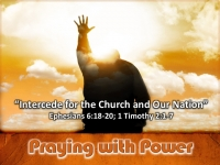 Intercede for the Church and Our Nation