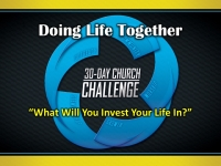 What Will You Invest Your Life In?