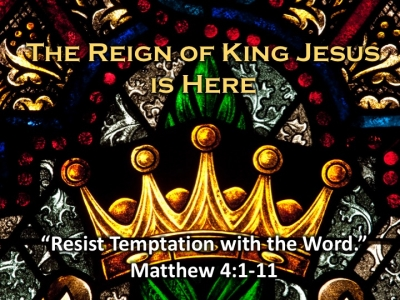 Resist Temptation with the Word