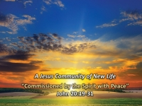 Commissioned by the Spirit with the Lord's Peace""